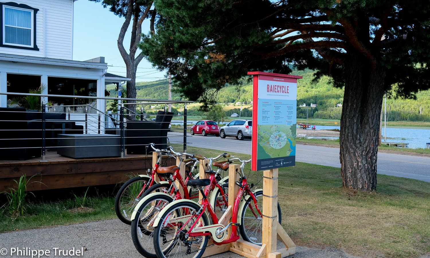Station Belle Plage, Vélo-partage Baiecycle