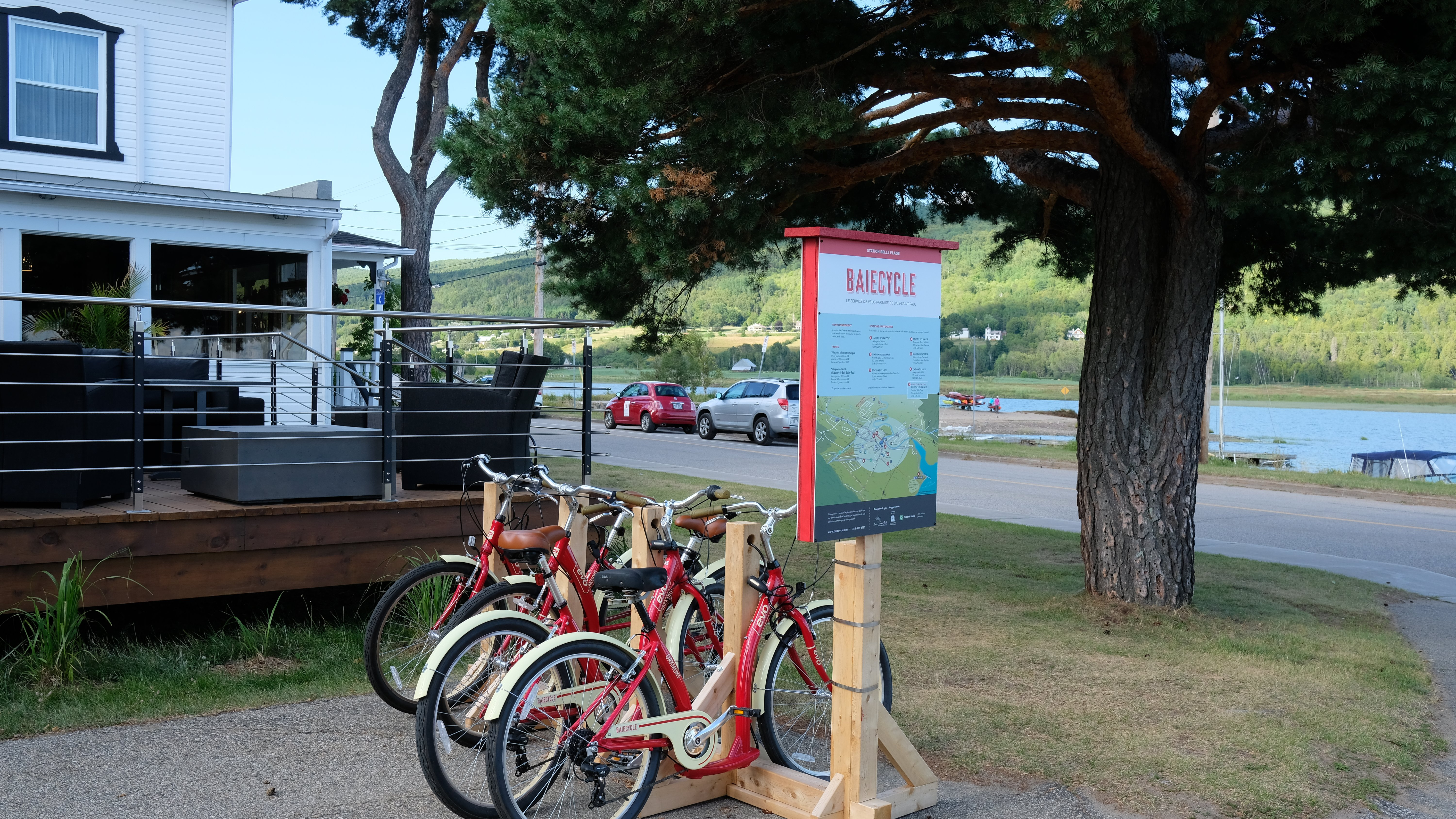 Baiecycle Station Belle Plage